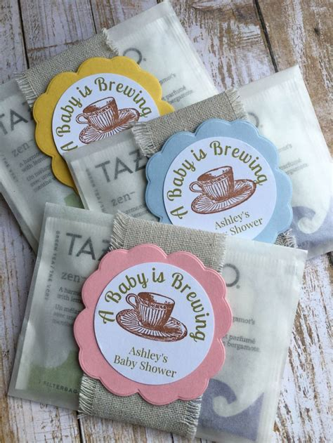 Baby Shower Favors by 8 Baby Shower Favors Baby Shower Tea Bag Favors Quot A