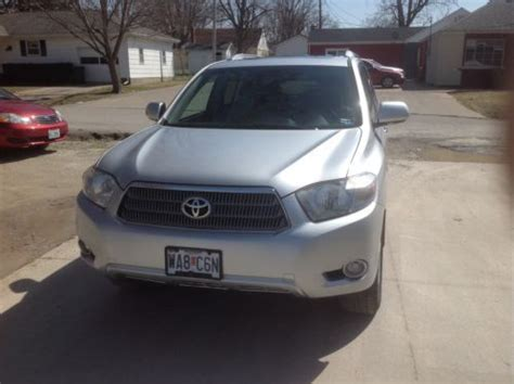 2009 Toyota Kluger Problems Sell Used 2009 Toyota Highlander Hybrid Limited Sport