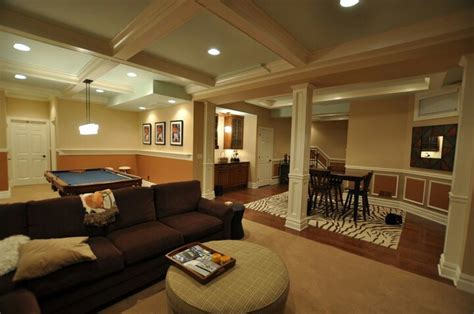 finished basement home homes