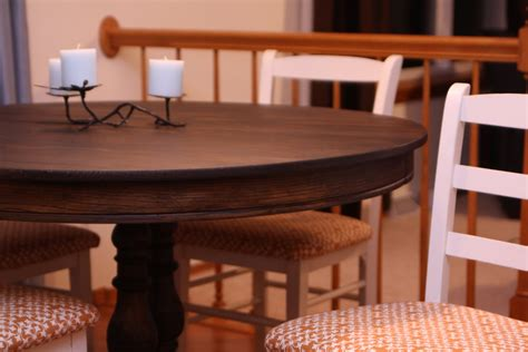 How To Refinish A Dining Room Table by Decorating The Dorchester Way Refinished Dining Room