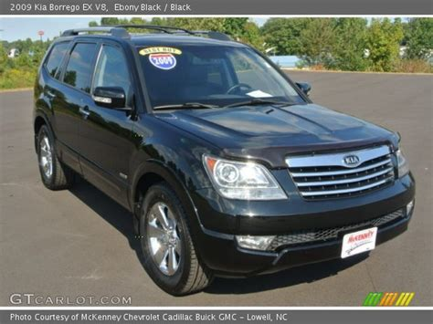 Kia Borrego V8 Black 2009 Kia Borrego Ex V8 Black Interior
