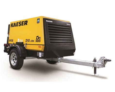 kaeser announces a new portable air compressor the m58 compact equipment