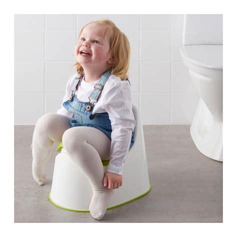 Ikea Lilla Children Potty Green lockig children s potty white green ikea