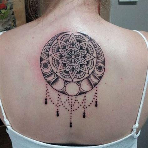 tattoo mandala dos tatouage mandala femme dos