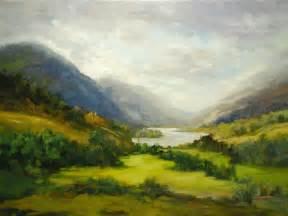 landscape artists loch shiel scotland landscape painting