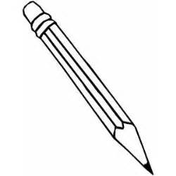 pencil coloring page pencil coloring sheet
