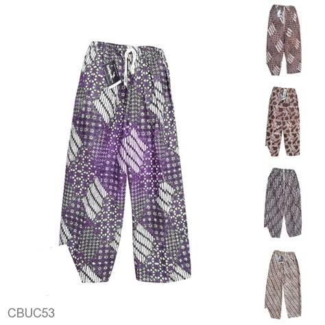 Celana Panjang Batik Anak celana panjang jumbo batik motif batik klasik obral batik murah batikunik