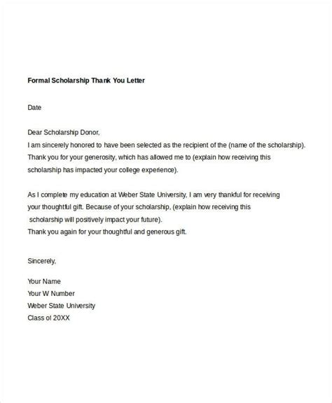 thank you letter for in formal thank you letter letters free sle letters