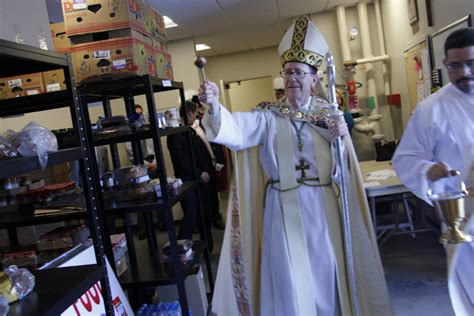 St Francis Food Pantry by St Francis Xavier Parishioners See Master S Plan Come