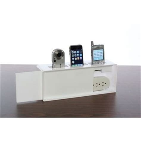 wall charging station kangaroom storage wall mounted cell phone charging station white things for kurt