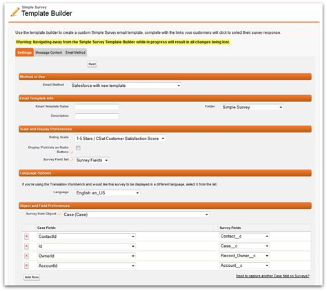 Simple Survey For Salesforce V2 12 Now Available On The Appexchange Custom Report Request Template