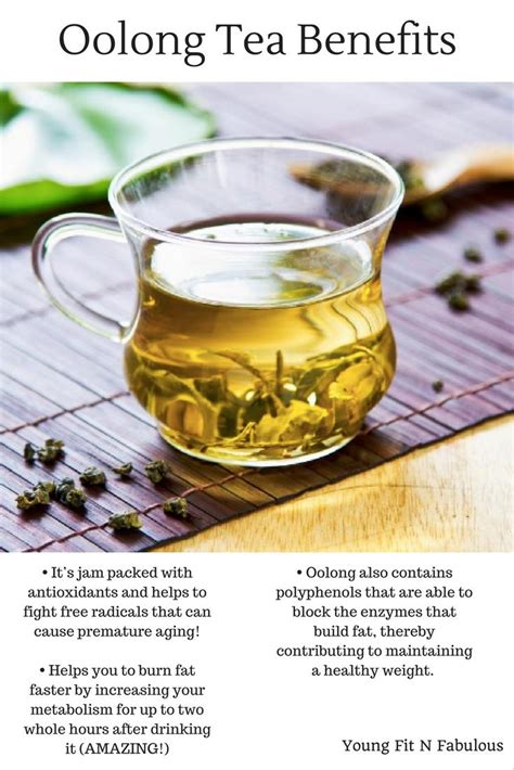 Teh Oolong My Tea pu erh tea health benefits fit n fabulous