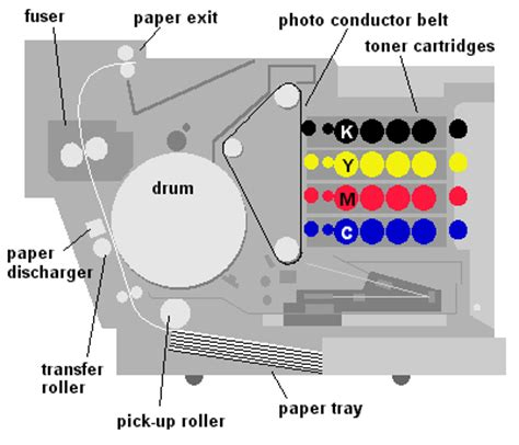 print layout view definition computer color laser printer dictionary definition color laser