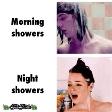 Shower In The Morning by Up Feeling Like Crap
