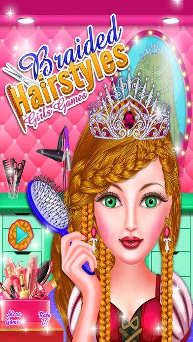 haircuts shop games app shopper braided hairstyles girls games games