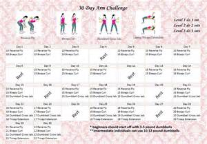 30 day arm challenge for women fitness challenge 30 arm challenge