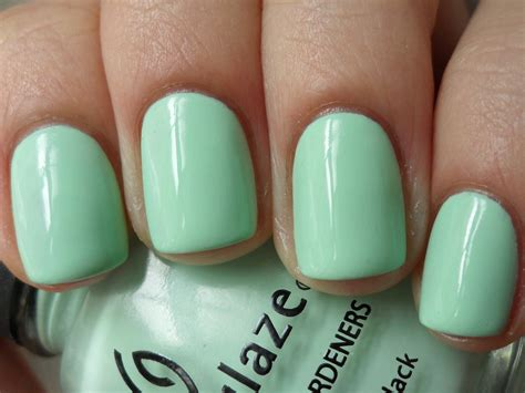 Mint Green Nail Polishes by Mint Green All Colours Are But Only One Of