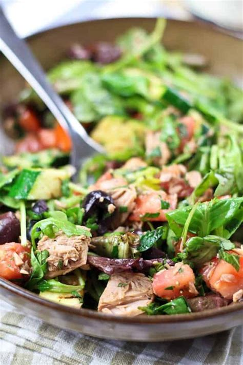 healthy tuna salad recipe dishmaps