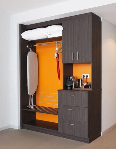 hotel room interior   refreshing orange color