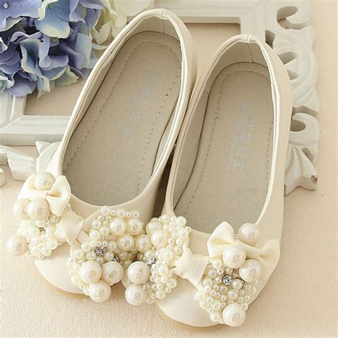 Flower Wedding Shoes by Pearls Flower Wedding Shoes 2017 New Style Luxury