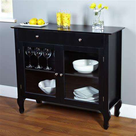 black dining room buffet sideboard server cabinet