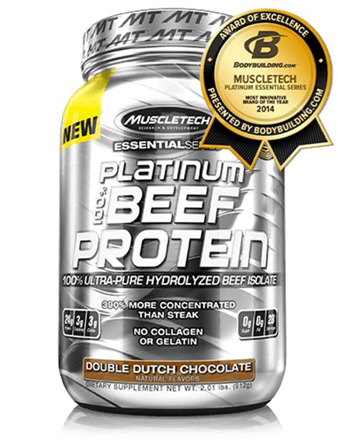 Beef Protein Muscletech Platinum 100 Beef Protein Muscletech