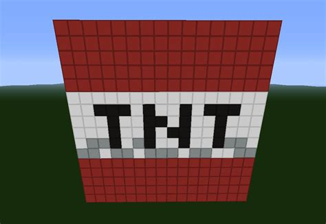 tnt block minecraft project