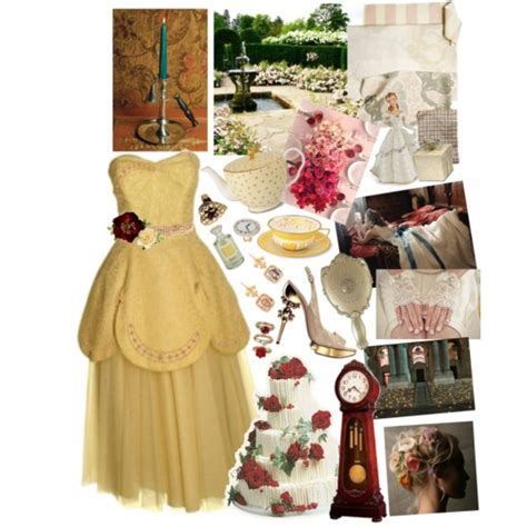 theme line beauty and the beast themed wedding a beauty and the beast wedding polyvore