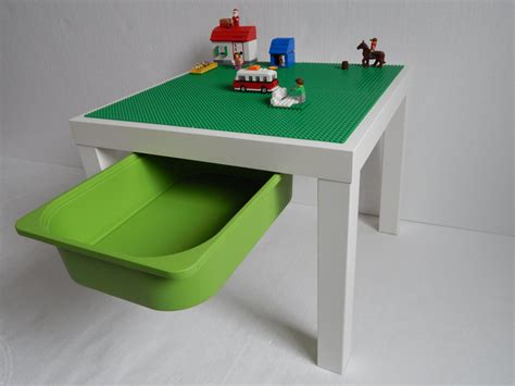 Big Lego Table by Lego 174 Table With Storage Large 20x20 Green