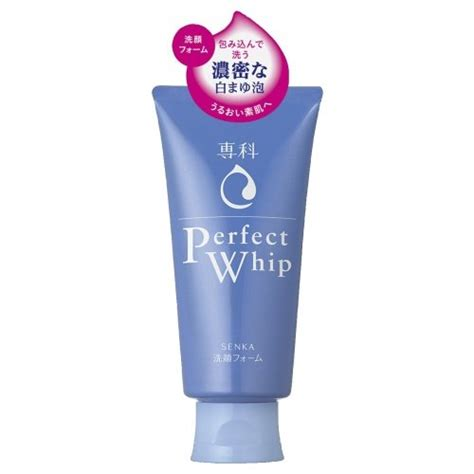 Senka Whip Cleansing Foam 120 Ml Shiseido Hada Senka Whip Cleansing Japan Foam