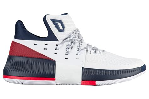 adidas dame 3 a red white and blue adidas dame 3 lands next week