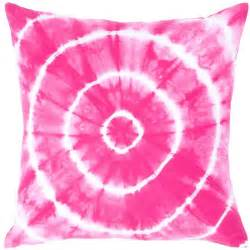 Tie Dye Cushions Rizzy Home Pink Tie Dye Circles Decorative Throw Pillow At