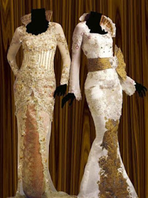 Kebaya Wanita 4 contoh desain model kebaya muslim modern terbaru wanita gambar gaun pesta baju pengantin model 2015