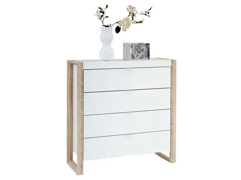 Commode Peu Profonde by Commode 4 Tiroirs