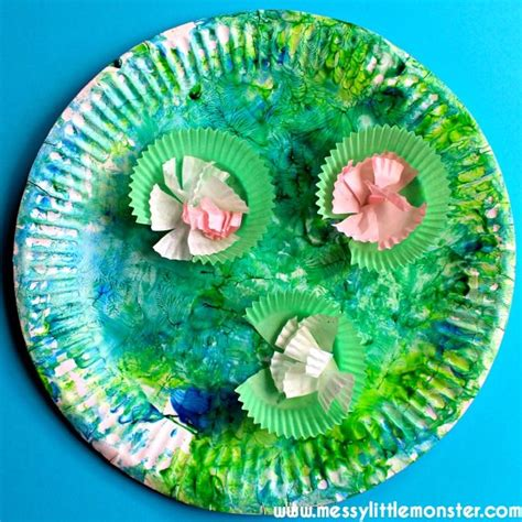 pond crafts for claude monet inspired water lilies water lilies claude
