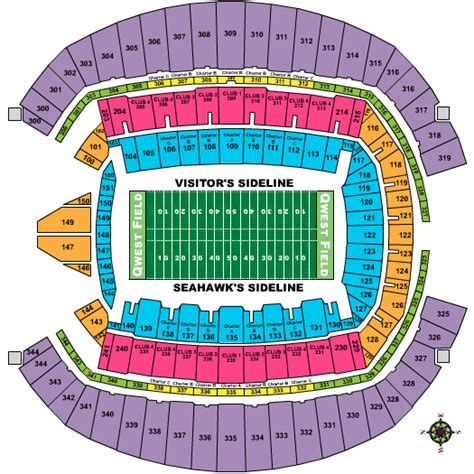 centurylink field map seahawks seating chart seahawks stadium football seating chart seahawks stadium football
