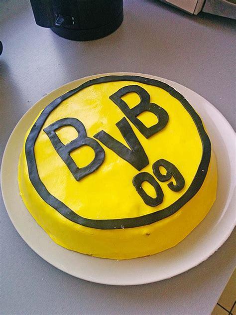 dortmund kuchen bvb torte rezept mit bild cinderella 91 chefkoch de
