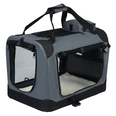 Hundetransportbox Auto by Woltu Ht2025gr Hundebox Hundetransportbox Auto