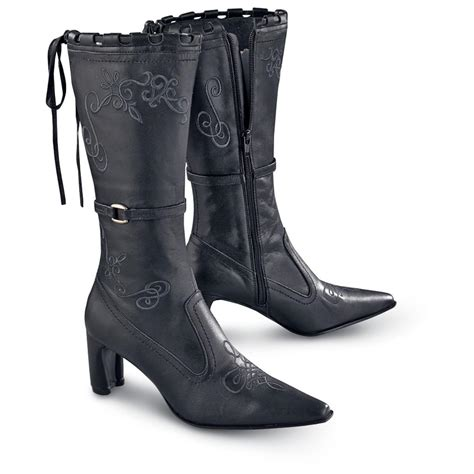pointy boots for s roper 174 pointy toe western boots black 111094