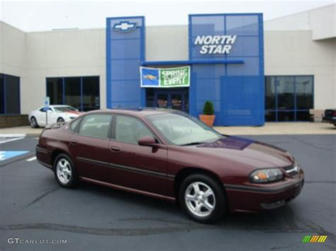 2003 berry metallic chevrolet impala ls 30935699 gtcarlot car color galleries