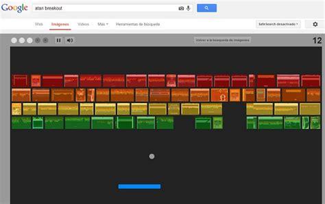 imagenes de google que se puedan jugar 161 juega atari breakout en el buscador de google