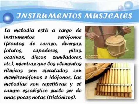 imagenes instrumentos musicales de la region amazonica region amazonica wmv youtube