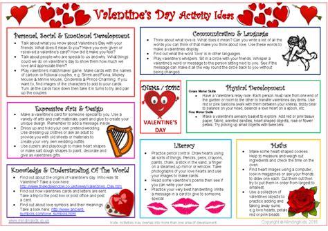 activity days valentines ideas s day activity ideas sheet mindingkids
