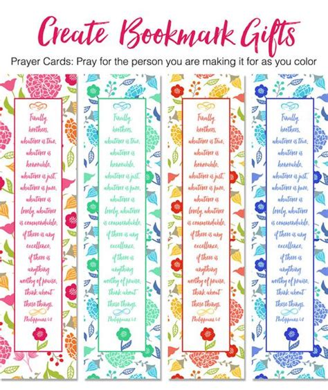 printable bookmark planner coloring journaling and bookmarks on pinterest