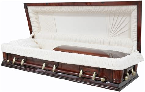 casket sofa best price caskets 8723 fc full couch w foot panel solid