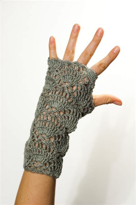 pattern crochet hand warmers crochet pattern instant download flower for the wind chaser