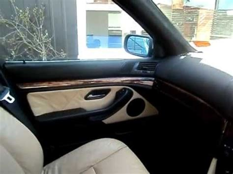 bmw e39 5 series interior project complete! youtube