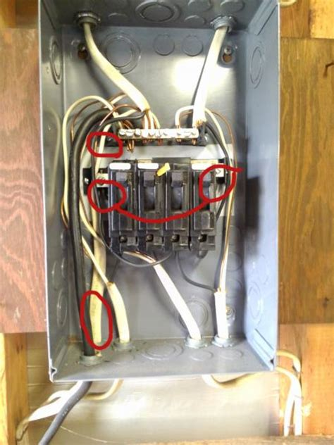 fuse style wiring to run 230v compressor in garage doityourself community forums