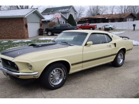 mustang cars for sale by owner 1969 ford mustang classic car sale by owner in manteno