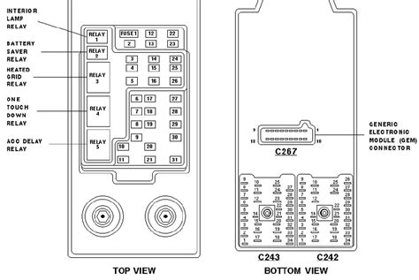 motor repair manual 2011 ford expedition interior lighting 1997 ford expedition xlt the fuse box diagram triton blown fuse